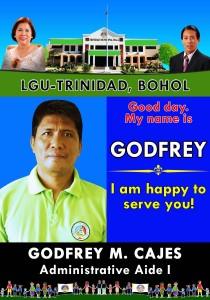 GODFREY M. CAJES Administrative Aide I