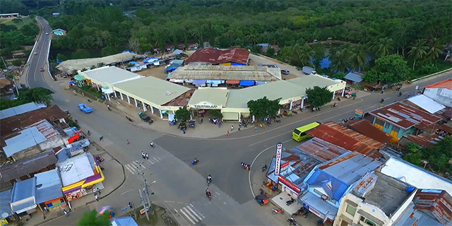 areal view-market