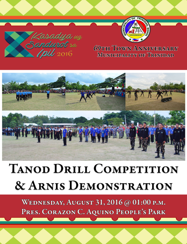 7. TANOD DRILL COMPETITION AND ARNIS EXHIBITION